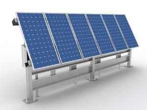 solar cell 3d max