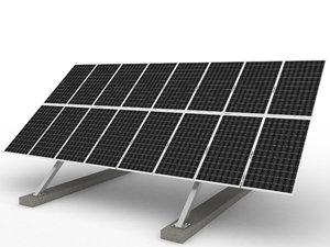 3dsmax solar cell