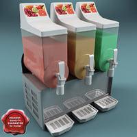 3d model cold drink dispenser v3