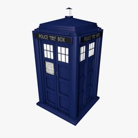 Doctor Who - TARDIS (Police Box)