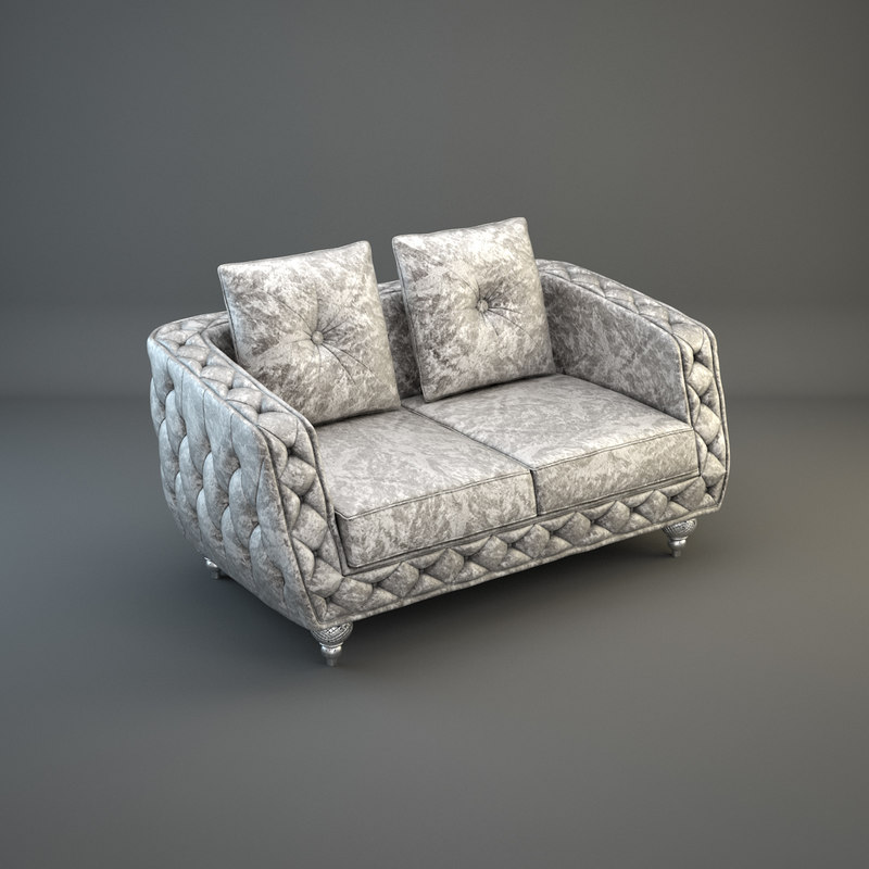 3ds max seater sofa capital