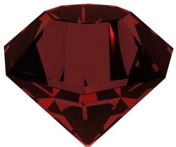 spinning diamond animation 3d model