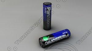 3d c4d battery