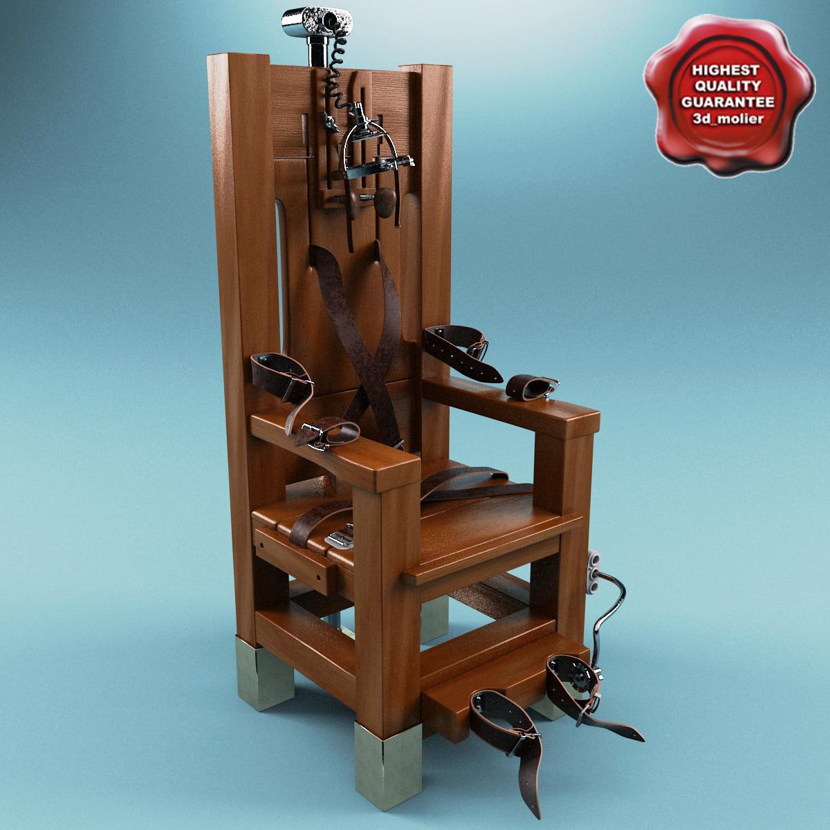 electric chair 3D Models – Electirc Chair