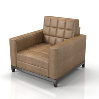 obj smania leather tufted