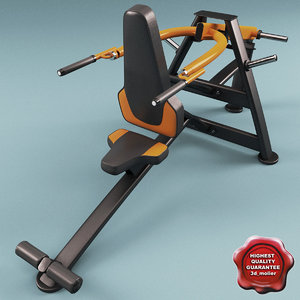 3ds max tricep dip machine ops