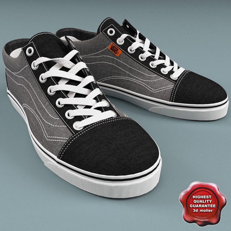 vans shoes men c4d