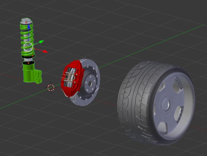 3d suspension brembo kit