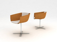 Poliform Strip Cross Chair