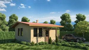 3ds house bungalow
