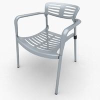 toledo chair 3d max
