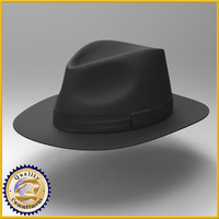 3d hat indiana jones