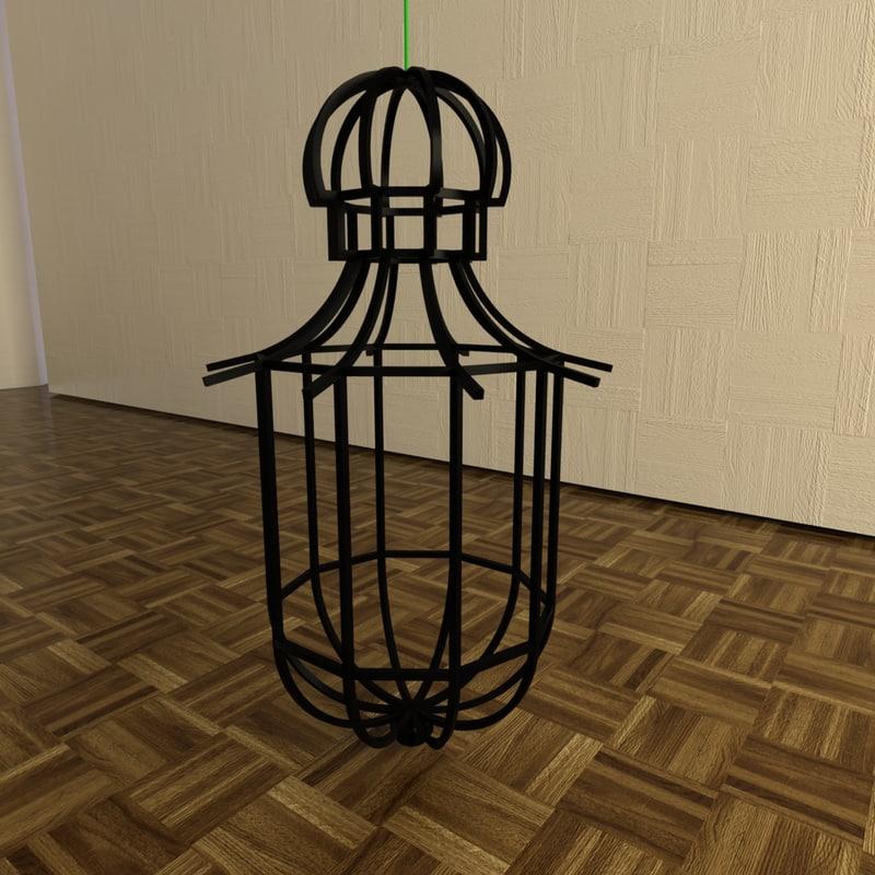 max metal frame chandelier