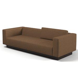 3d model laurameroni divano lento