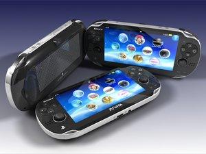 3d model portable playstation vita