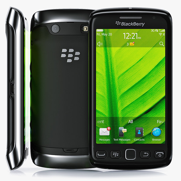 copy blackberry torch 9860 3d max