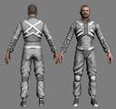 futuristic man 3d x