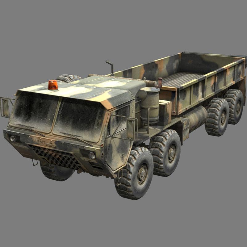 3d m-977 hemtt oshkosh truck