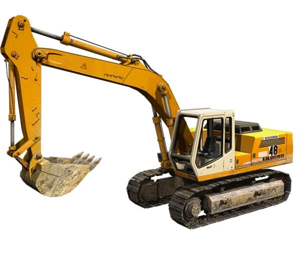 max excavator