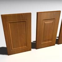 cabinet doors 3d max