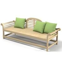 Bespoke Outdoor garden sofa traditional designer