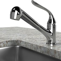 kitchen faucet sink 3ds