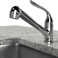 Kitchen Faucet Sink Modern Contemporary Elegant Set Lavatory