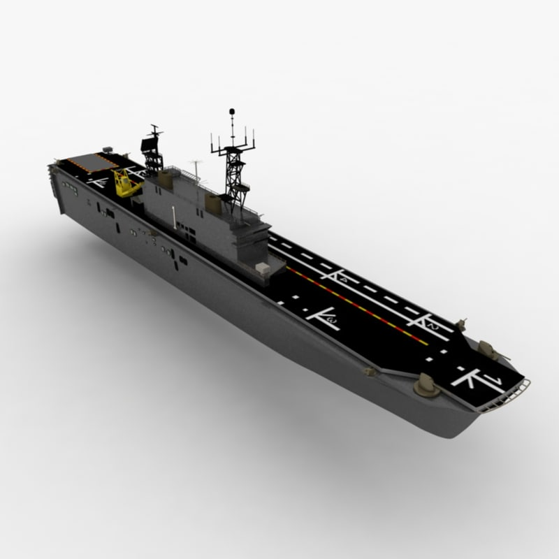 3d model of tarawa lha ship