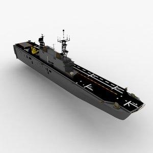 3d model of tarawa lha ship