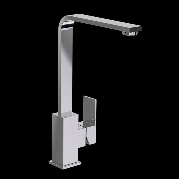 3d modern tap mixer