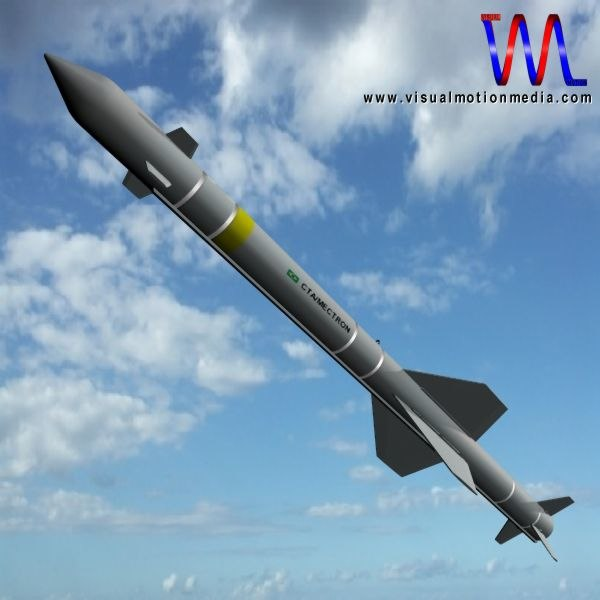 3d missile mar-1 model
