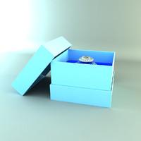 diamond ring (white gold)