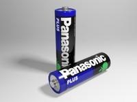 panasonic battery 3d model