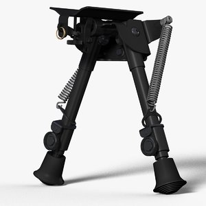 bipod harris brm 3d model