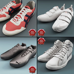 3ds max sneakers v4