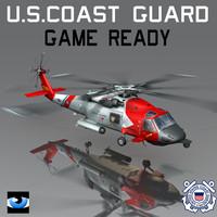 3dsmax coast guard sikorsky