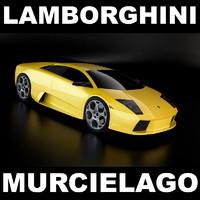 lamborghini car 3d model