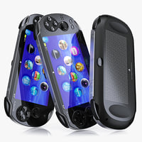 playstation vita 3d model