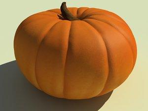 3ds max pumpkin