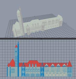st louis union station 3d model