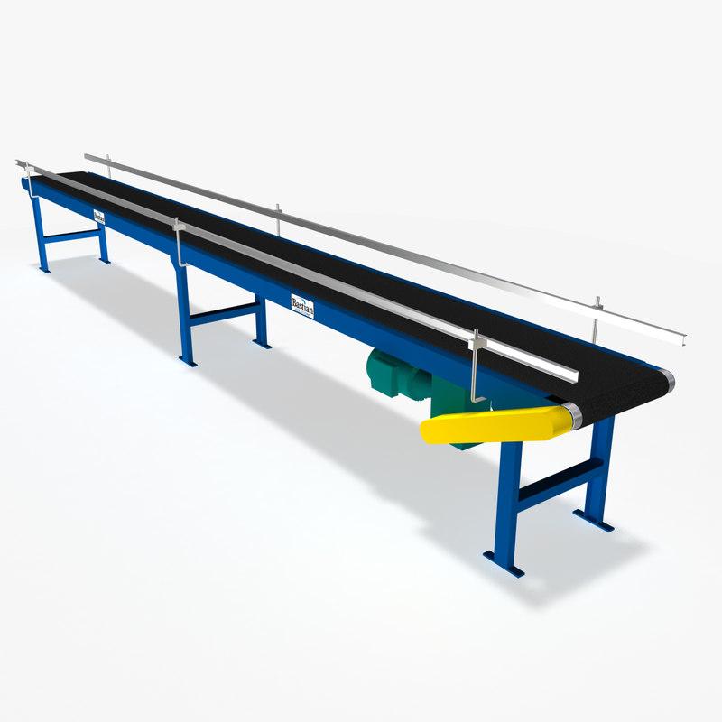 slider bed belt conveyors