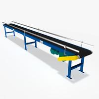 Conveyor - Belt Slider Bed 20 Ft