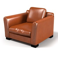 3d baxter diner leather