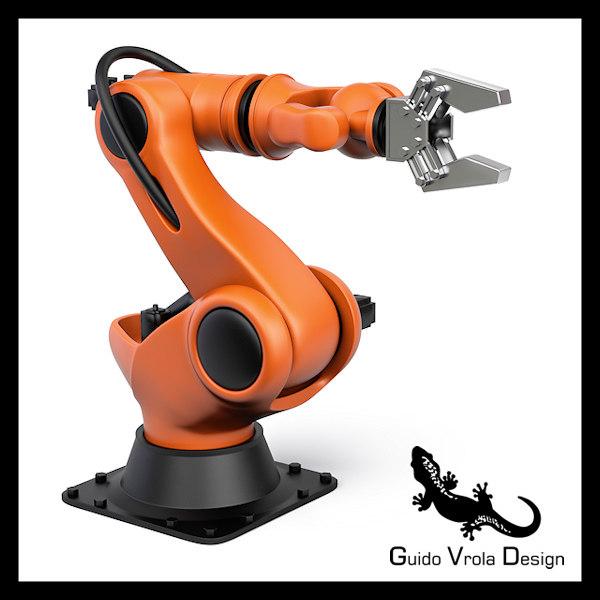 3ds industrial robot