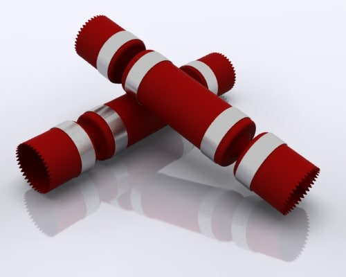 3d christmas cracker