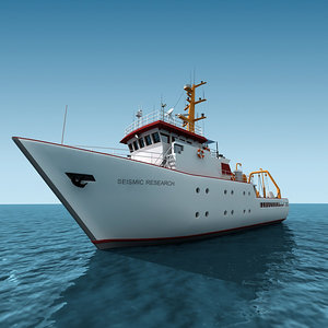 seismic research ship 3ds