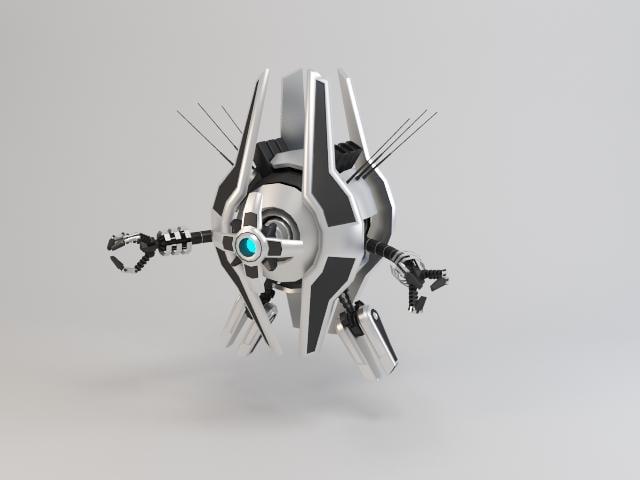 3d robot trs250