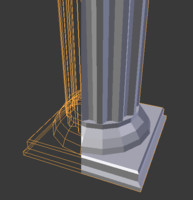 roman architectural 3ds