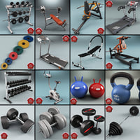 Gym Equipment Collection V6