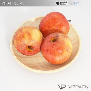 free apple v1 3d model
